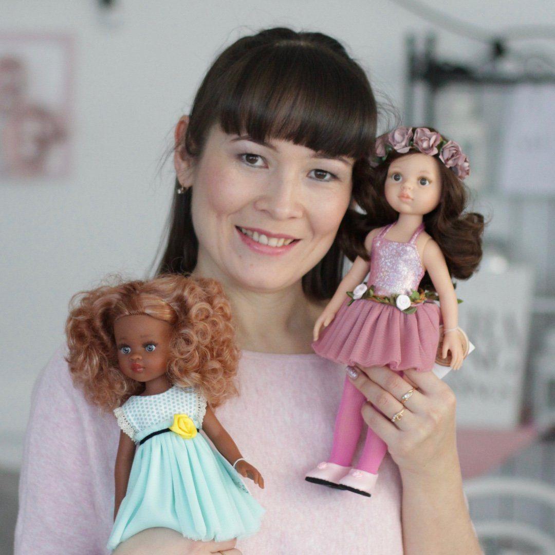 Куклы Paola Reina и одежда 👗